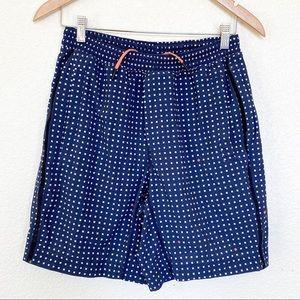 """Lululemon men's small lines pace breaker shorts 7"""""""